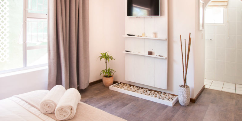 Guest house accommodation options can also offer a hotel feel